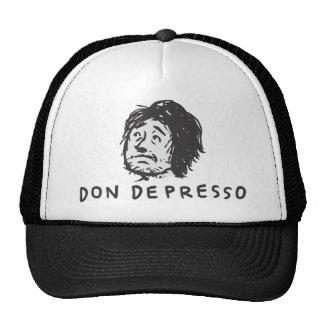 Logotipo de Don Depresso (cara do Thumbnail + Nome Boné