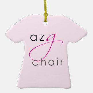 """Logotipo de """"G"""" Ornamento De Cerâmica Camiseta"""
