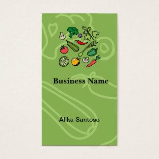 Logotipo de jardinagem cartão de visitas