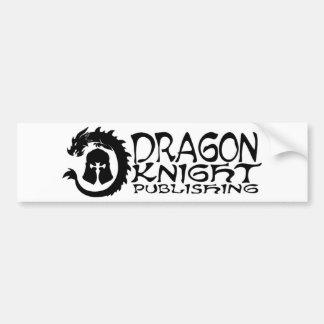 Logotipo de publicação do Dragão-Cavaleiro Adesivo Para Carro