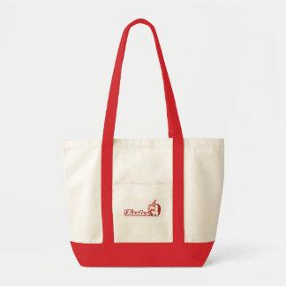 Logotipo de Tastee Saco-vermelho Bolsa Para Compras