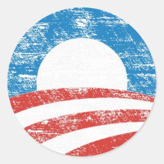 Logotipo desvanecido de Obama Adesivo