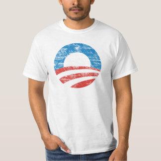 Logotipo desvanecido de Obama Camiseta