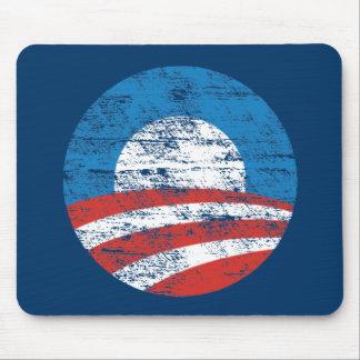 Logotipo desvanecido de Obama Mouse Pad