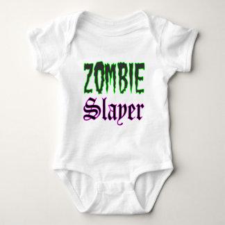Logotipo do assassino do zombi dos presentes do t-shirt
