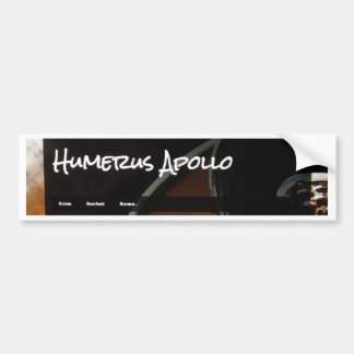 Logotipo do blogue de Apollo do úmero Adesivos
