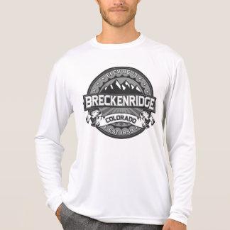Logotipo do cinza de Breckenridge T-shirts