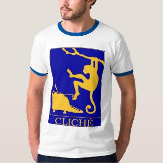Logotipo do cliché t-shirt