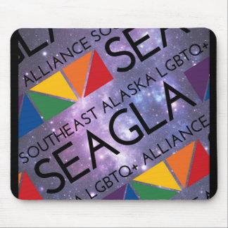 Logotipo do espaço de SEAGLA Mouse Pad