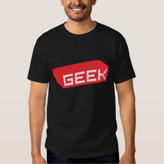 Logotipo do geek tshirt