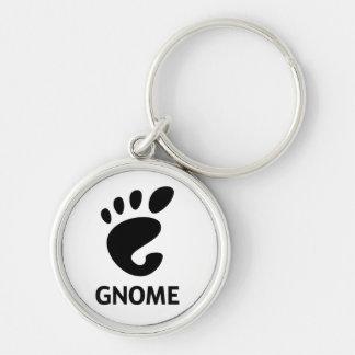 Logotipo do GNOMO Chaveiro