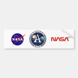 Logotipo do Programa Apolo Adesivo Para Carro