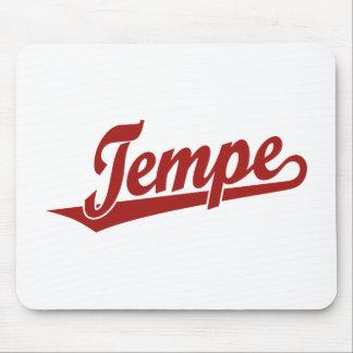 Logotipo do roteiro de Tempe no vermelho Mouse Pad