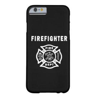 Logotipo do sapador-bombeiro capa barely there para iPhone 6