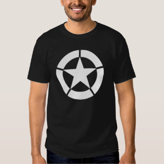 Logotipo do tanque dos E.U. WWII Camisetas