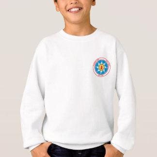 logotipo ereto do bolso do tribo da rocha t-shirts