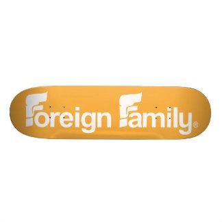 Logotipo estrangeiro da família shape de skate 20,6cm