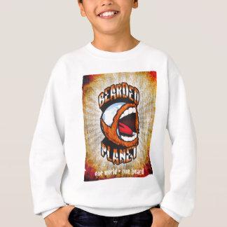 Logotipo farpado do planeta t-shirt
