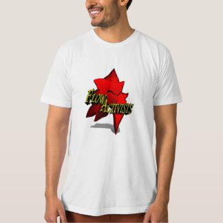 Logotipo grande de Ativists do fluxo Camisetas