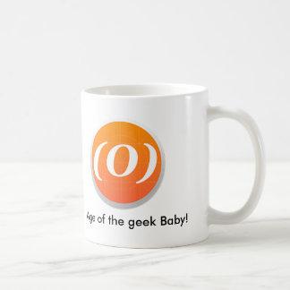 """Logotipo """"idade da caneca do geek """""""