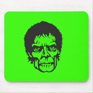 Logotipo principal do zombi mouse pad
