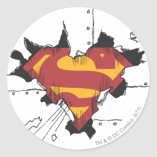 Logotipo quebrado do metal do S-Protetor   do Adesivo