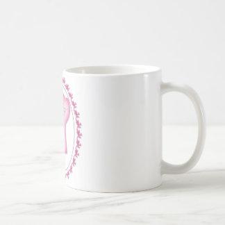 Logotipo sábio das mulheres caneca de café