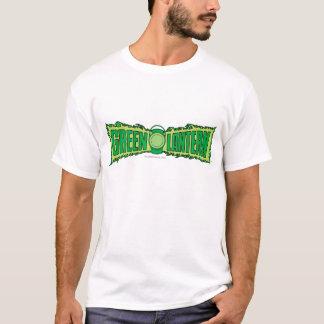 Logotipo verde 4 da lanterna camisetas