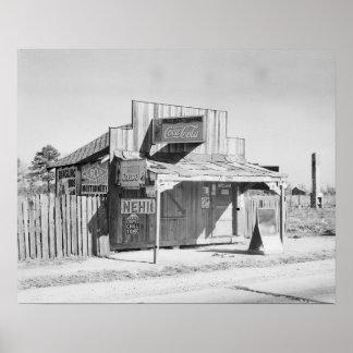 Loja da borda da estrada, 1935 pôsteres
