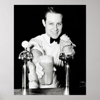 Loja da soda, 1936 pôsteres