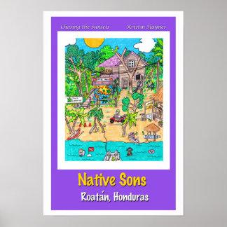 Loja do mergulho dos filhos de Natve Pôster