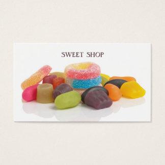 Loja doce colorida moderna cartão de visitas