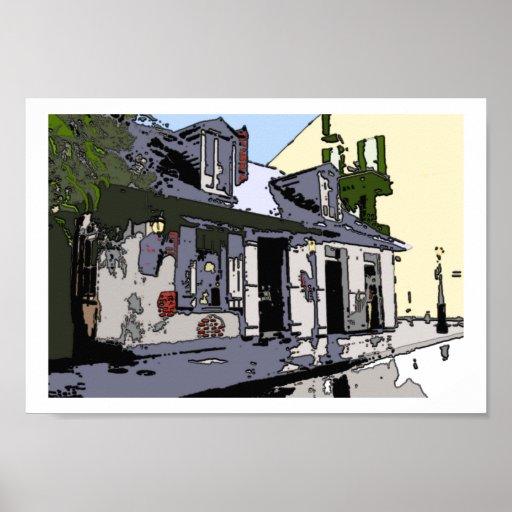 Loja preta de Smith do bairro francês, Pôsteres