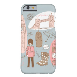 Londres Capa Barely There Para iPhone 6