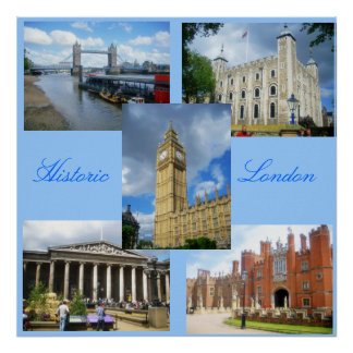 Londres histórica poster
