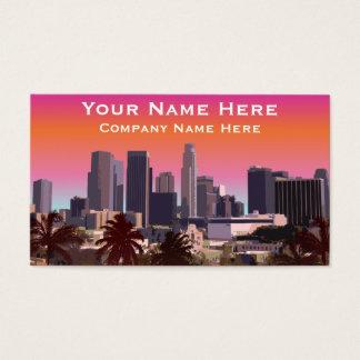 Los Angeles do centro - imagem customizável Cartão De Visitas