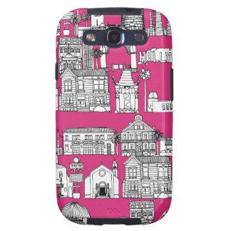 Los Angeles/rosa Capinhas Samsung Galaxy S3