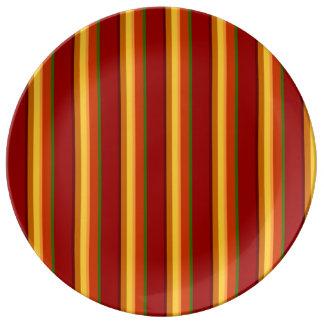 Louça Teste padrão NO.1 da queda:  Placa decorativa da