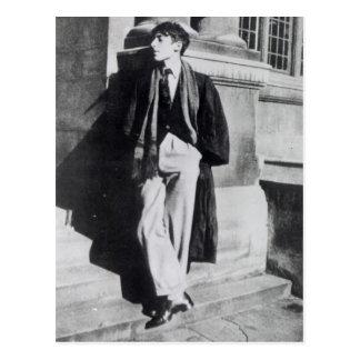 Louis MacNeice durante seu tempo em Oxford Cartão Postal