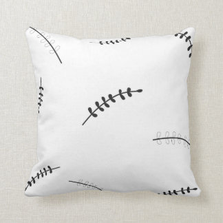 Louros preto e branco travesseiros