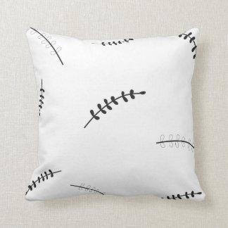 Louros preto e branco travesseiros de decoração