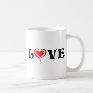 Love-01 Caneca De Café