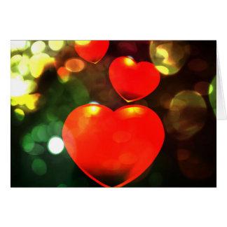 Love Cartão Comemorativo
