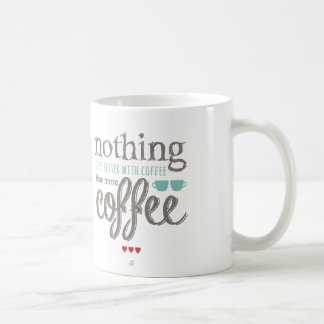 Love Coffee Caneca
