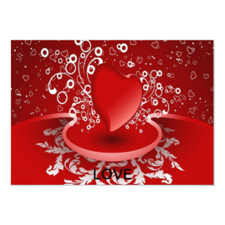 LOVE CONVITE 12.7 X 17.78CM