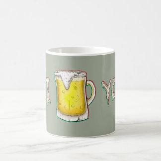 Love inside the Cup. Caneca De Café