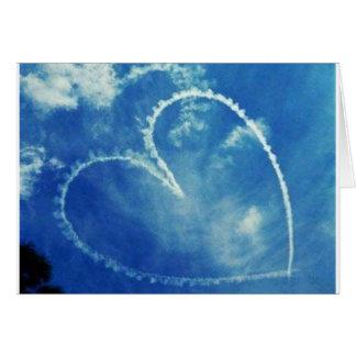 Love-Is-In-The-Air-7957 Cartão Comemorativo