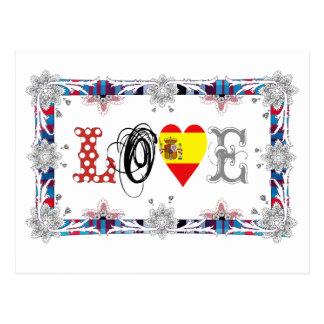 Love Spain Cartões Postais