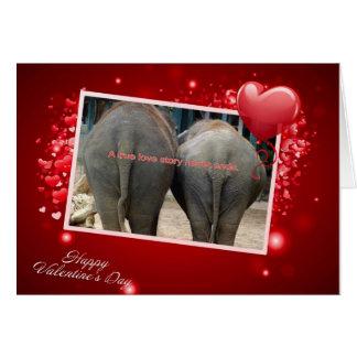 Love Story verdadeiro Cartão
