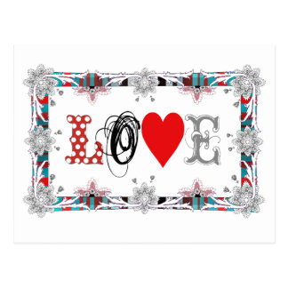 Love to Love Cartão Postal